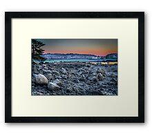 COLD BEACH 2 4B 2557 Framed Print