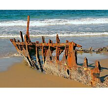 Wreck of the SS Dicky Photographic Print