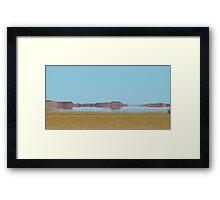 Mirage, Outback Queensland Framed Print