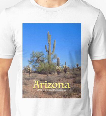 Arizona - Cacti Unisex T-Shirt