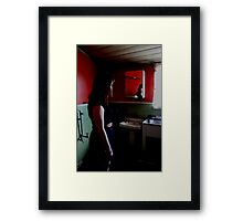 I Dont Want To Go Back To The Old House Framed Print