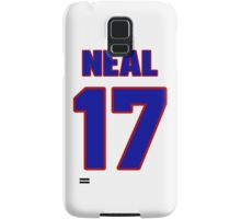 Basketball player Jim Neal jersey 17 Samsung Galaxy Case/Skin