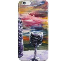 A Bottle Of Rose' iPhone Case/Skin