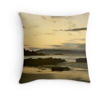 Golden Beach Tasmania Throw Pillow