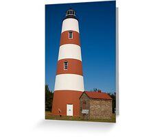 The Sapelo Island Lighthouse Greeting Card