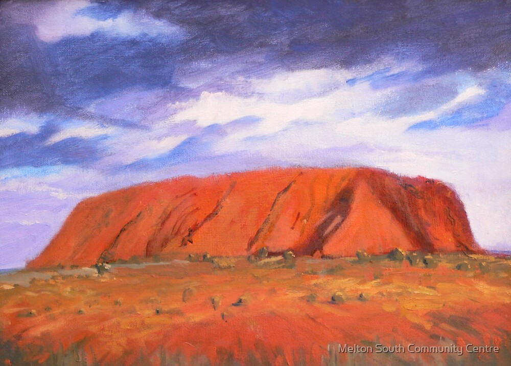 Uluru by Melton South Community Centre