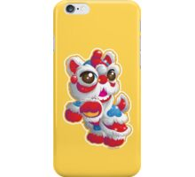 Cute Lion Dancer iPhone Case/Skin