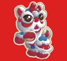 Cute Lion Dancer Kids Tee