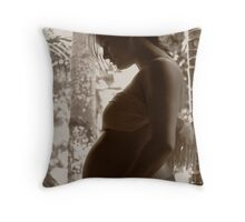 Precious child Throw Pillow