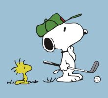 Snoopy on golf by gaberje
