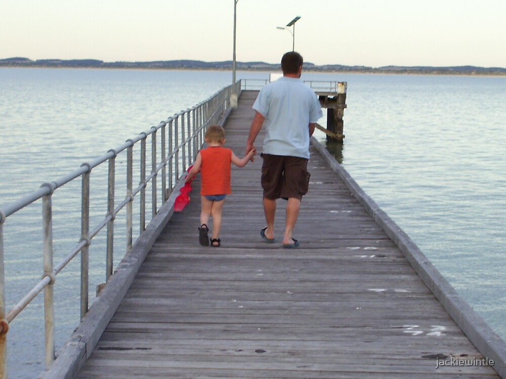 Father and Son by jackiewintle