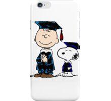 Snoopy graduate iPhone Case/Skin