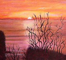 Sunset near the 12 Apostles by Melton South Community Centre