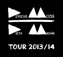 Depeche Mode : Tour 2013/14 - Depeche Mode - White by Luc Lambert