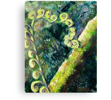 Forest Fern Canvas Print