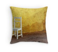 Chair - Ile de Gorre, Senegal Throw Pillow