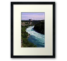 Lower Niagara Framed Print