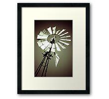 Tilting at Windmills Framed Print