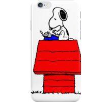 Typewriter Snoopy iPhone Case/Skin