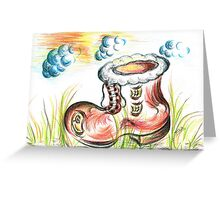 Old Boot House Greeting Card