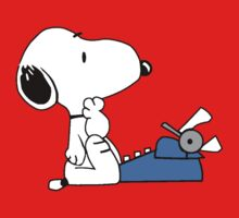 Snoopy typewriting T-Shirt