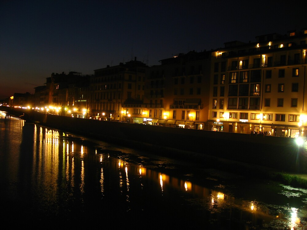 View from Ponte Vecchio by Radical