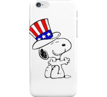 USA Snoopy iPhone Case/Skin