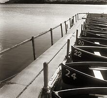 Loch Fad Fishing Boats by Mark Connelly