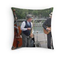 jazz band original Throw Pillow