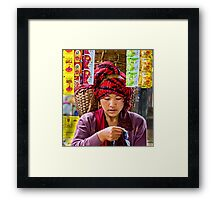 Shampoo Quest. Framed Print