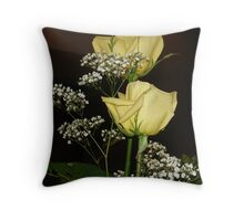 flowers,arrangements Throw Pillow