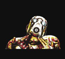 Borderlands Psycho T-shirt by Sarah Ramsden