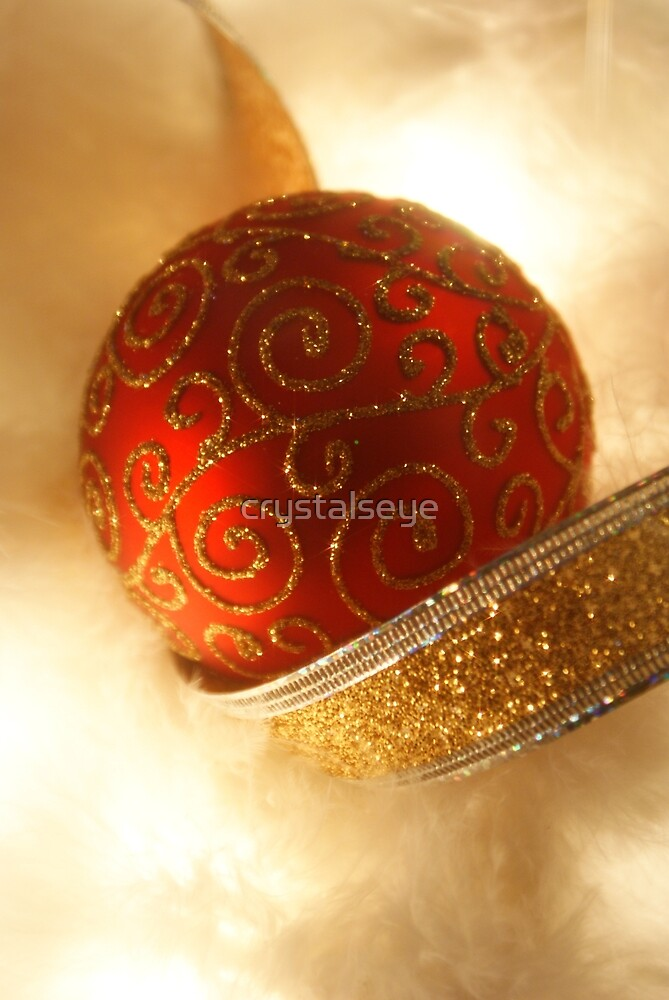 Red N Gold Christmas by crystalseye