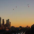 Sunrise Balloon Ride  by D-GaP
