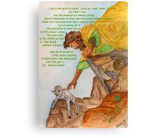 Jesus and Prayer Canvas Print