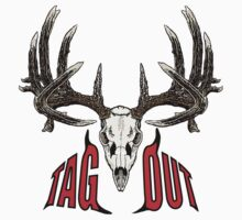 Tag out whitetail skull by saltypro