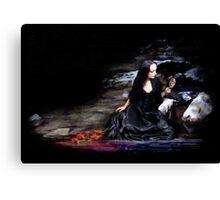 Love Lies Bleeding.. Canvas Print
