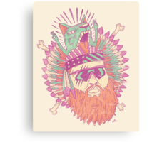 All American Action Bronson  Canvas Print