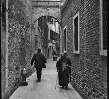 Old Women - Venice  by Carl Gaynor