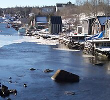 Herring Cove - Coastal Village by Geoffrey