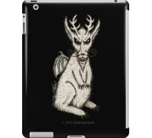 Spring-heeled Jackalope iPad Case/Skin