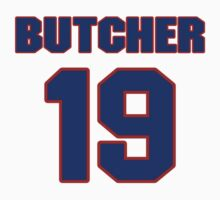 Basketball player Donnie Butcher jersey 19 by imsport