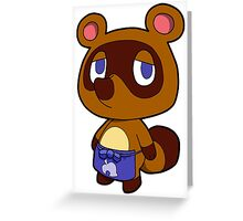Animal Crossing - Tom Nook Greeting Card