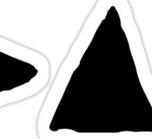 Depeche Mode : Medium Logo DM 2013 - Black Sticker