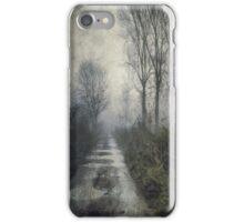 Fog on the Bridleway iPhone Case/Skin