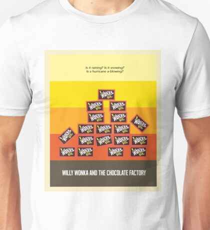 Willy Wonka And The Chocolate Factory Unisex T-Shirt