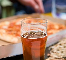 Beer and Pizza by JKunnen