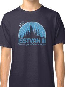 Visit (blue) Classic T-Shirt