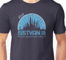 Visit (blue) Unisex T-Shirt