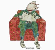 Pig Inquirer by Hoffard